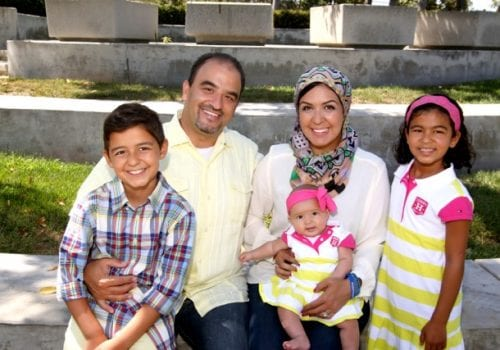 Zein and his family